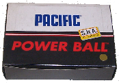 Pacific Power squash balls,made by J Price