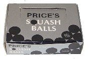 SQUASH BALLS by Price