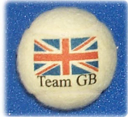 TEAM GB Tennis Balls
