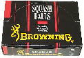 Browning squash balls made by Price of Bath