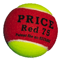 red  play & stay ball,MINI TENNIS