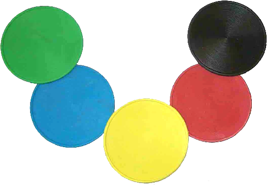 Bowls mats, throw down mats for tennis and schools