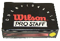 Wilson Pro Staff squash balls made by Price of Bath