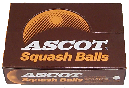 Ascot squash balls made by Price of Bath